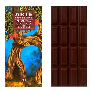 Chocolate 50% Cacau com Avelã
